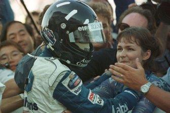 Damon Hill, Williams y su esposa Georgie