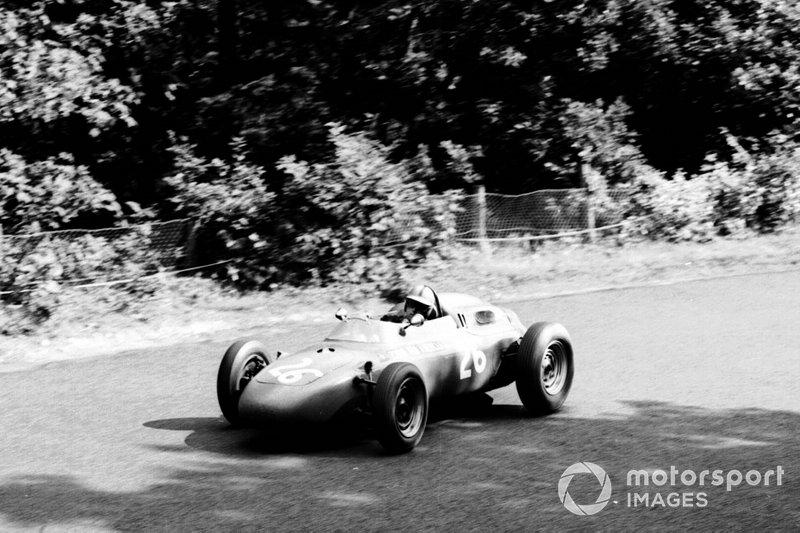 Duitse GP 1963 - Gerhard Mitter, Porsche 718