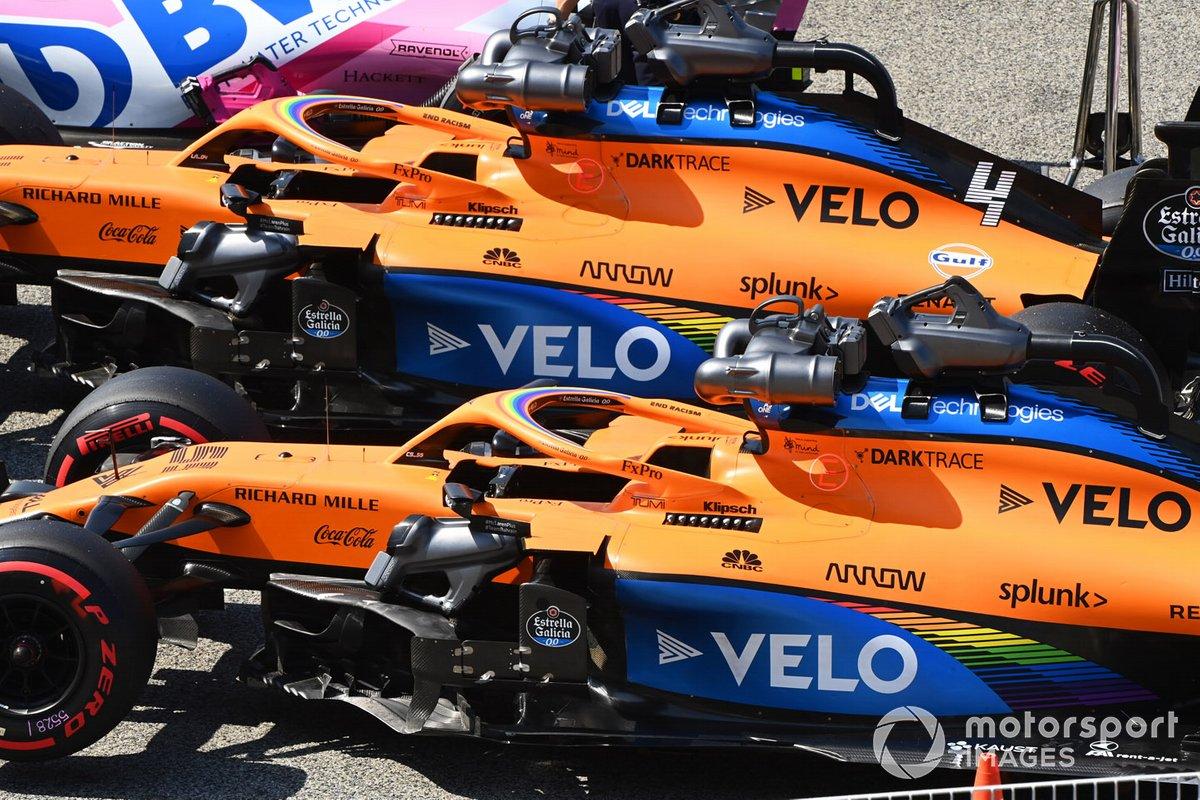 McLaren iki araçla da puan aldı