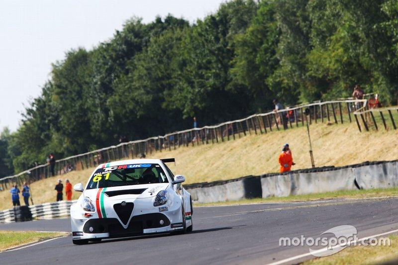 Derek Palmer, DPE Motorsport, Alfa Romeo Giulietta TCR