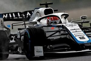 George Russell, Williams FW43 vin en T-wing