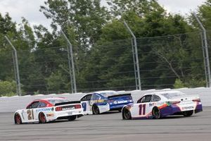 Denny Hamlin, Joe Gibbs Racing, Toyota Camry FedEx Ground Matt DiBenedetto, Wood Brothers Racing, Ford Mustang Motorcraft/Quick Lane