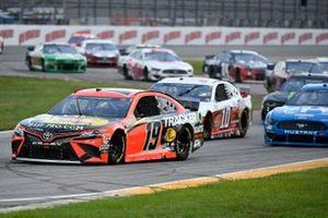 Martin Truex Jr., Joe Gibbs Racing, Toyota Camry Bass Pro Shops, Aric Almirola, Stewart-Haas Racing, Ford Mustang Go Bowling