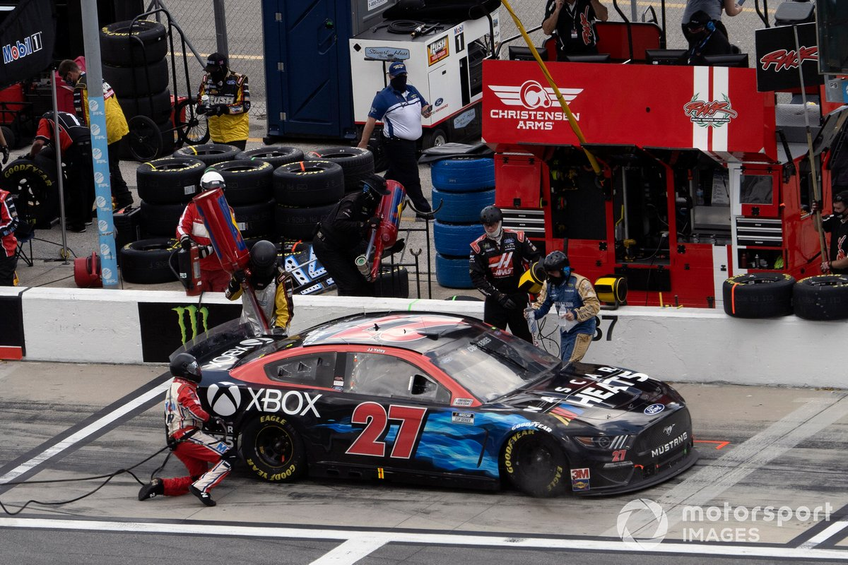 J.J. Yeley, Rick Ware Racing, Ford Mustang Motorsport Games