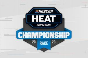 eNASCAR Heat Pro League logo