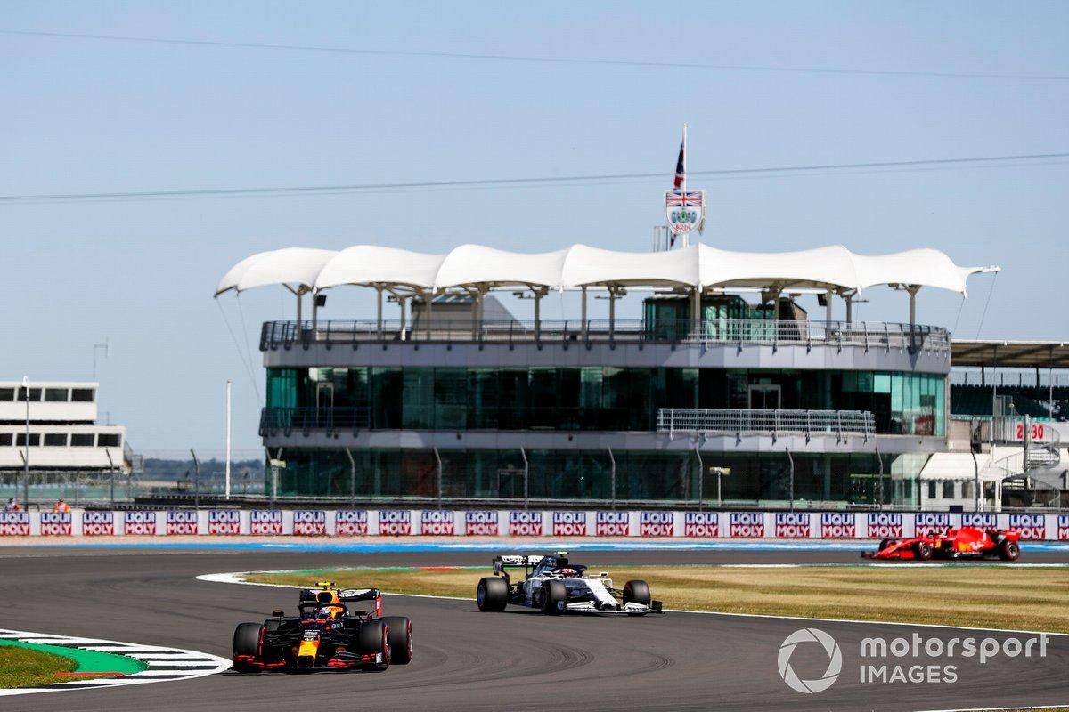 Alex Albon, Red Bull Racing RB16, Pierre Gasly, AlphaTauri AT01, Sebastian Vettel, Ferrari SF1000