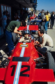 Piers Courage, Frank Williams Racing Cars, De Tomaso 505/38, mit Frank Williams