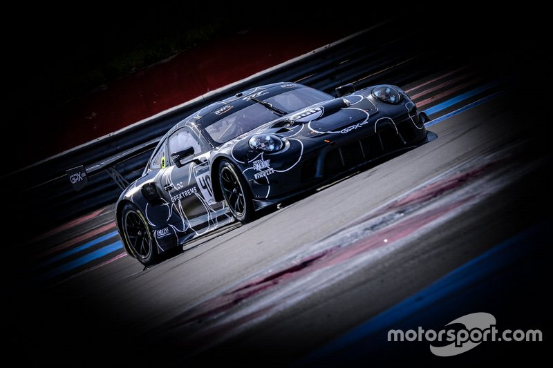 #40 Porsche 911 GT3 R, GPX Racing, Louis Delétraz, Romain Dumas, Dennis Olsen, Thomas Preining