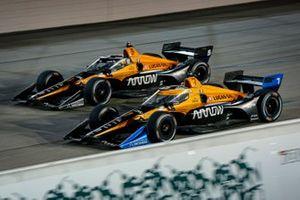 Oliver Askew, Arrow McLaren SP Chevrolet and Pato O'Ward, Arrow McLaren SP Chevrolet