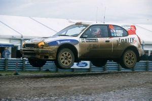 Martin Brundle, Arne Hertz, Toyota Corolla WRC