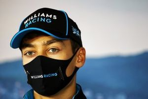 George Russell, Williams Racing in de persconferentie