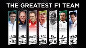 The greatest F1 team