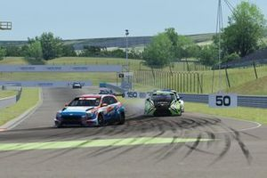 Mat'o Homola, BRC Racing Team, Hyundai i30 N, e Bence Boldisz, Zengo Motorsport, Cupra TCR