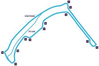 Monaco Circuit track map