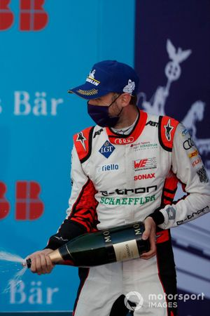 René Rast, Audi Sport ABT Schaeffler, Audi e-tron FE06 terzo posto sul podio