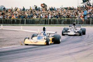 Dave Morgan, Surtees TS16/4-Ford, Jim Crawford, Lotus 72E