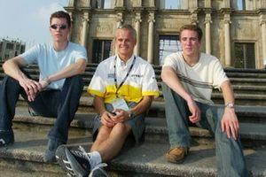 Alan Van Der Merwe, Carlin Motorsport, Heikki Kovalainen, Fortec Motorsport y Robbie Kerr, Alan Docking Racing