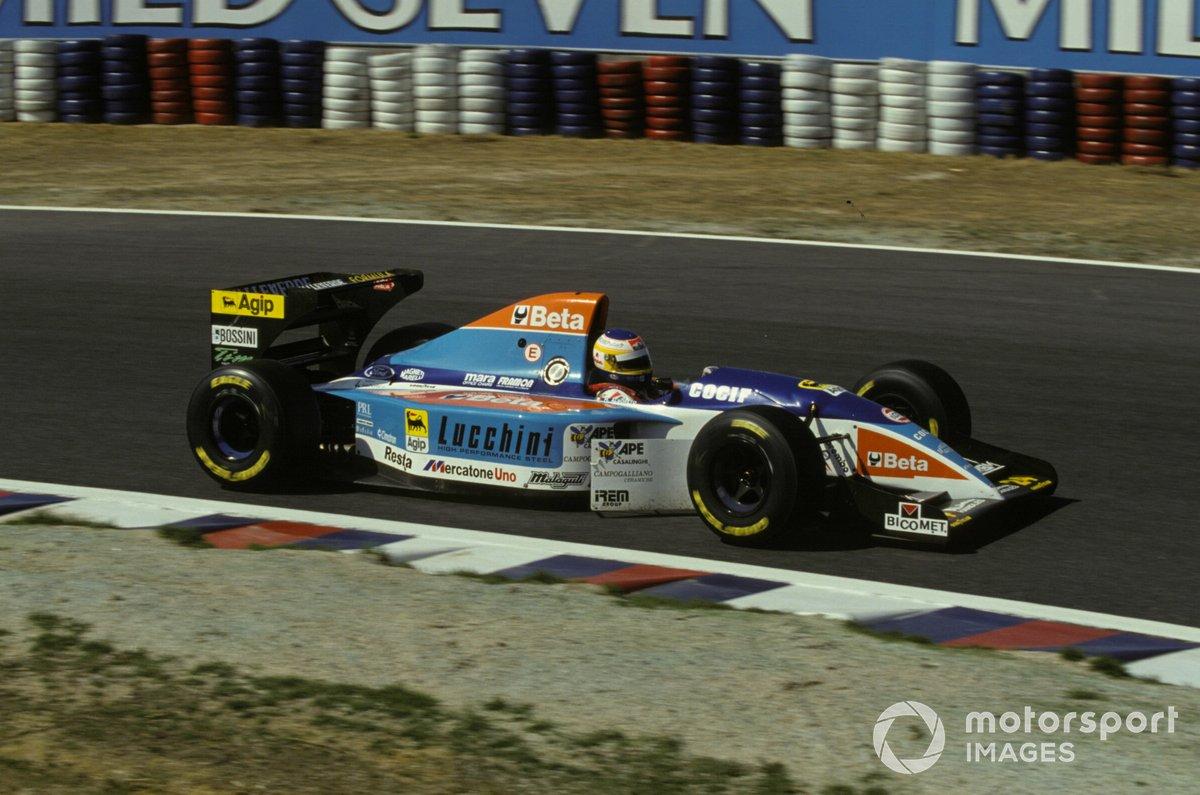 Michele Alboreto, Minardi M193B Ford