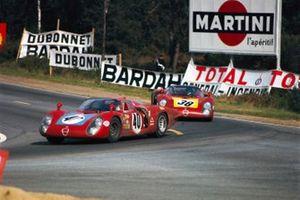 Mario Casoni, Giampiero Biscaldi, Autodelta, Alfa Romeo T33/2, Carlo Facetti, Spartaco Dini, Autodelta, Alfa Romeo T33/2