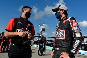 Erik Jones, Joe Gibbs Racing, Reser's Fine Foods Toyota Camry, crew chief Chris Gayle