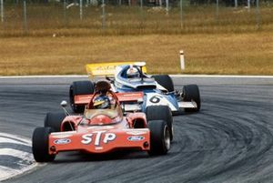 Ronnie Peterson, March 721X Ford, Rolf Stommelen, Eifelland March 721 Cosworth