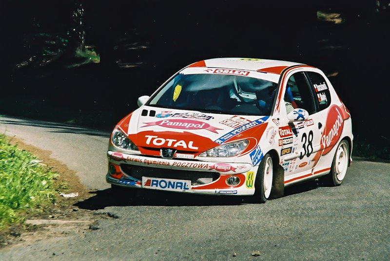 Piotr Starczukowski, Joanna Madej, Peugeot 206 XS