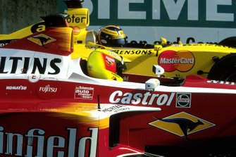 Ralf Schumacher, Williams FW21, Heinz-Harald Frentzen, Jordan Mugen Honda 199