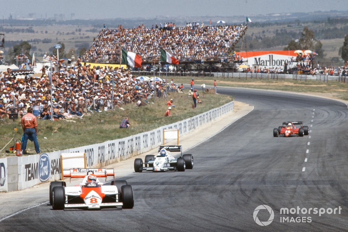 7-е место. Гран При ЮАР 1983 года