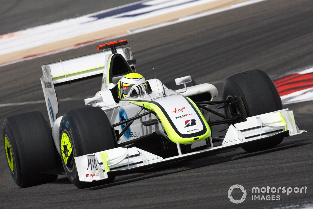 Jenson Button, Brawn BGP 001 Mercedes