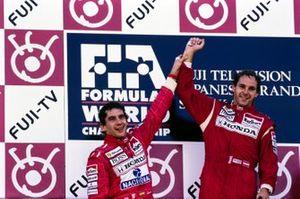 Ayrton Senna, McLaren, Gerhard Berger, McLaren