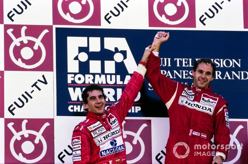 Gerhard Berger - McLaren MP4 / 6-Honda - GP de Japón de 1991