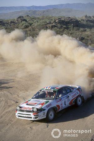 Didier Auriol, Bernard Occelli, Toyota Celica Turbo 4WD