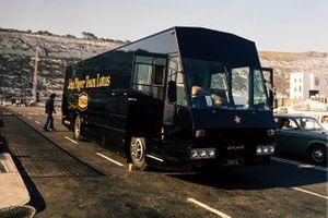 El transporte de Team Lotus