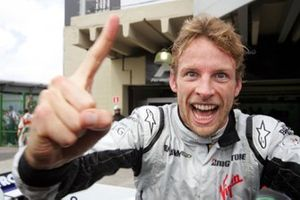 Jenson Button, Brawn Grand Prix célèbre le titre mondial