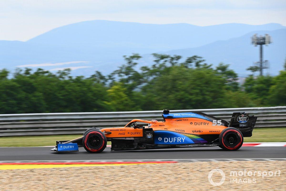 9-е место: Карлос Сайнс (McLaren)