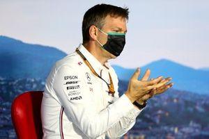 Технический директор команды Mercedes AMG Джеймс Эллисон