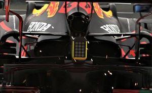 Задняя часть Red Bull Racing RB16