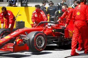 Себастьян Феттель, Ferrari SF1000, на стартовой решетке Гран При Штирии