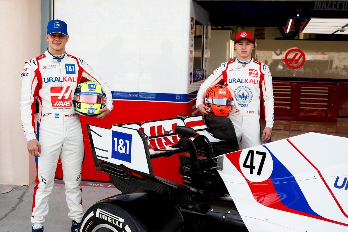 Mick Schumacher, Nikita Mazepin