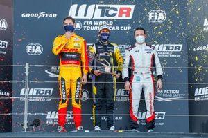 Nathanael Berthon, Comtoyou DHL Team Audi Sport Audi RS3 LMS, Gilles Magnus, Comtoyou Racing Audi RS3 LMS, Jean-Karl Vernay, Mulsanne Alfa Romeo Giulietta TCR