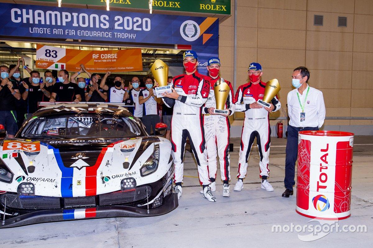 #83 AF Corse Ferrari 488 GTE EVO: François Perrodo, Emmanuel Collard, Nicklas Nielsen