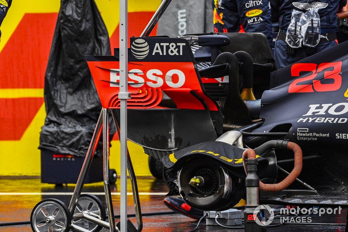 EL monoplaza de Alex Albon, Red Bull Racing RB16