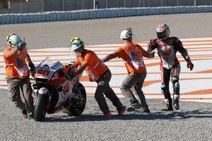 Takaaki Nakagami, Team LCR Honda crash