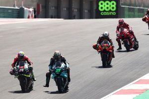 Aleix Espargaro, Aprilia Racing Team Gresini Franco Morbidelli, Petronas Yamaha SRT , Francesco Bagnaia, Ducati Team