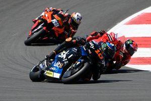 Luca Marini, Esponsorama Racing, Francesco Bagnaia, Ducati Team, Miguel Oliveira, Red Bull KTM Factory Racing