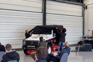 Presentazione della Mercedes G 320 della RUMBOZERO