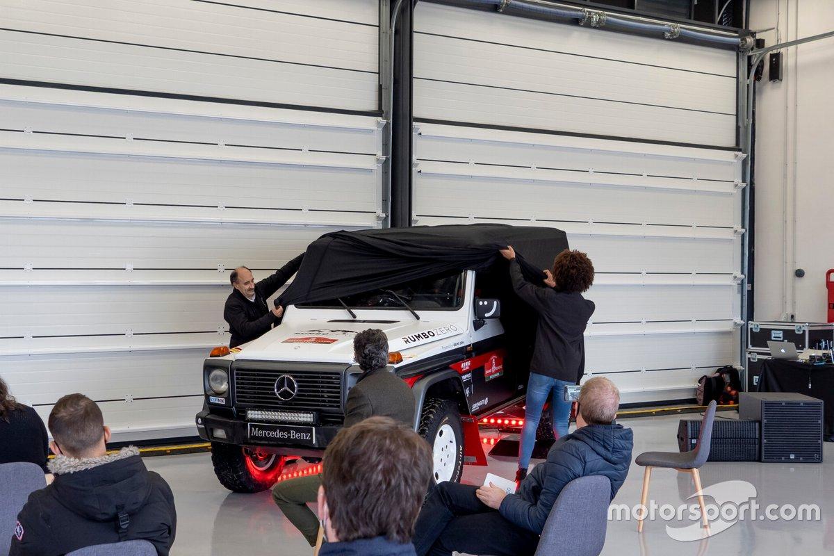 Presentación del Mercedes G 320 de RUMBOZERO