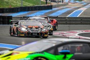 #555 Orange 1 FFF Racing Team Lamborghini Huracan GT3 Evo: Baptiste Moulin, Taylor Proto, Florian Latorre
