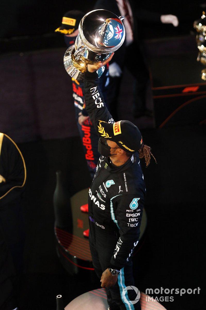 Lewis Hamilton, Mercedes, 1°posto