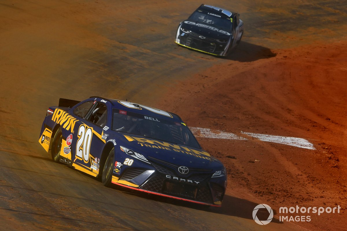 Christopher Bell, Joe Gibbs Racing, Toyota Camry Irwin Trade Strong
